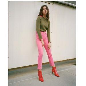 Rag & Bone Hot Pink Legging Jean Size 30